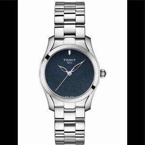 Tissot – Women's T-Wave Blue Dial Watch, 30mm